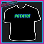 POTATO KEITH LEMON CELEBRITY FUNNY SLOGAN TSHIRT - 160559769825